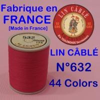 린카블레 632 (LIN CABLE MAROQUINERIE,린넨사, FIL AU CHINOIS) [가죽공예]