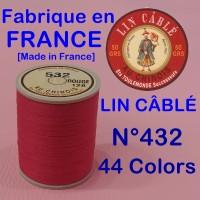 린카블레 432 (LIN CABLE MAROQUINERIE,린넨사, FIL AU CHINOIS)[가죽공예]